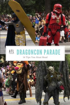 The DragonCon parade is one of my favs. It has stormtroopers, klingons & wizards. Here are14 things you need to know to handle the Dragon Con parade crowds.