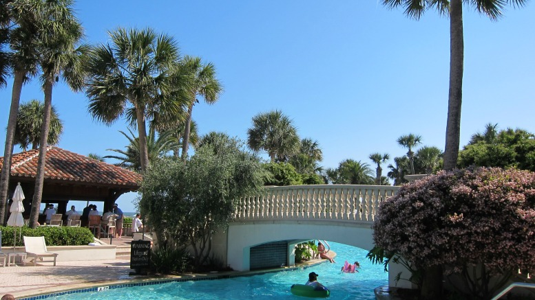 A stay at the Inn at Sea Island includes access (for a fee) to the luxurious Beach Club at The Cloister at Sea Island.