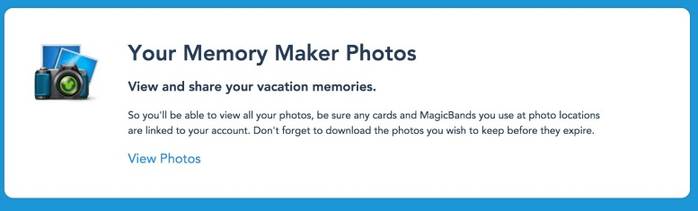 Disney PhotoPass Memory Maker