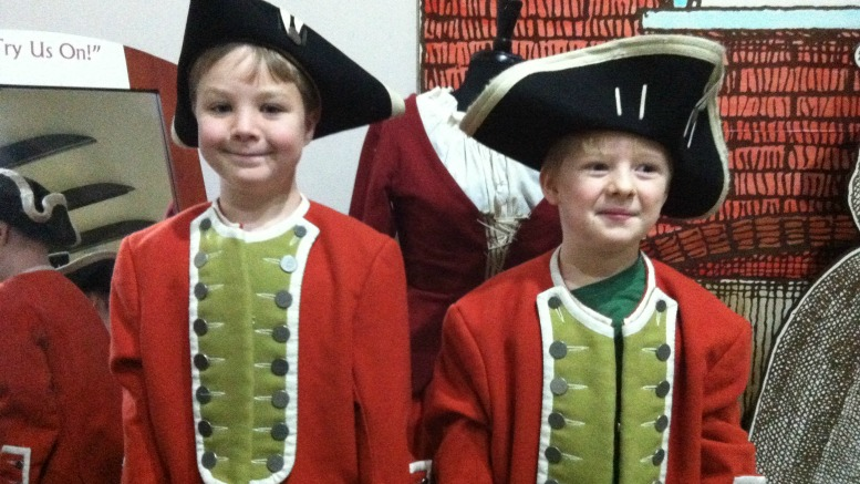 Playing Dress Up at Fort Frederica National Monument