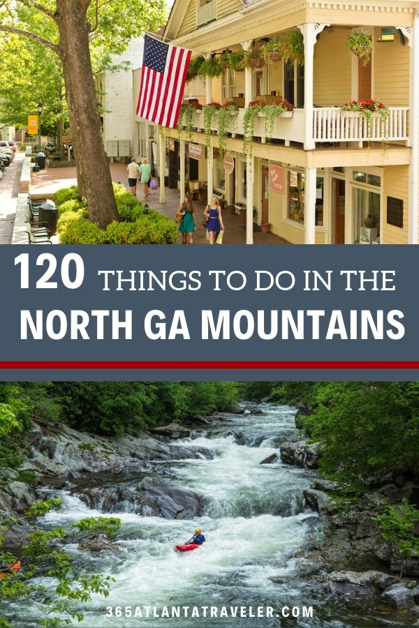 120+ Amazing Ways to Have Fun in the North Georgia Mountains