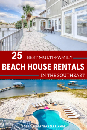 25 Beach House Rentals on AirBnB's Most Popular SE Beaches