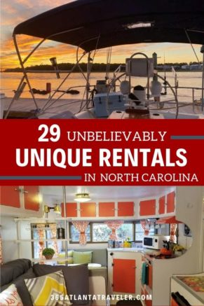 29 Unique North Carolina Rentals For Your Next Getaway