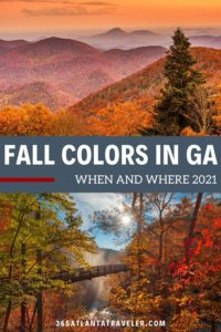 FALL COLORS IN GEORGIA 2021: WHEN AND WHERE TO GET THE BEST VIEWS